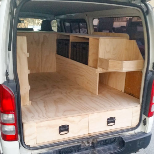 Fitout Gallery Trade Vehicles Camper Van Fitouts